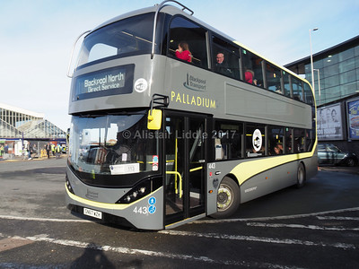 Blackpool Transport, Heritage Trams, Catch 22 and a few demonstrators