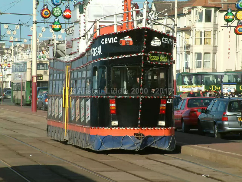 Blackpool 633 Illuminated Trawler 'Cevic'