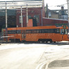 Centenary Car 641 going back into the depot after shunting