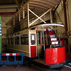 Blackpool Standard tram 143 with its new roof