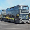 Blackpool Transport ADL E400 MMC City 420 SN17 MGE with 415 coming in behind