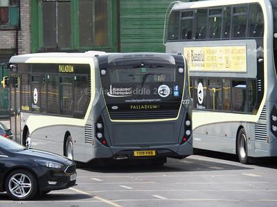 Blackpool Transport Enviro 200 222 YX18 KWB (2)