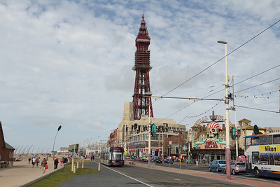 Blackpool Transport 013 Promenade Blackpool 2 Sep 12
