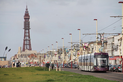 Blackpool Transport 007 Promenade Blackpool 1 Sep 12