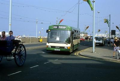 Blackpool Transport 119 Promenade Blackpool Sep 91