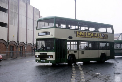 Blackpool Transport 365 Talbot Rd Blackpool Oct 87