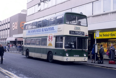 Blackpool Transport 326 Topping St Blackpool Oct 87