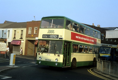 Blackpool Transport 350 Topping St Blackpool Sep 91