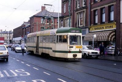 Blackpool Transport 001 Fleetwood Oct 87