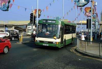 Blackpool Transport 107 Promenade Blackpool Sep 91