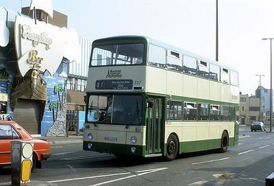 Blackpool Transport 337 Chapel St Blackpool Sep 91