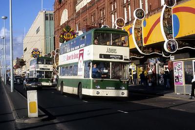 Blackpool Transport 352 Promenade Blackpool Oct 87