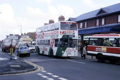 Blackpool Transport 358 High St Cleveleys Oct 87