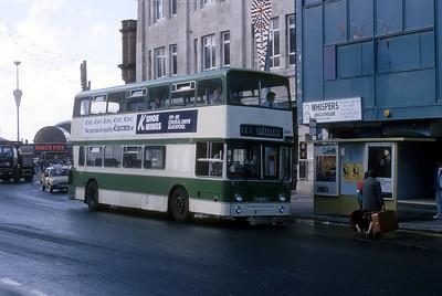 Blackpool Transport 349 Talbot Rd Blackpool Oct 87