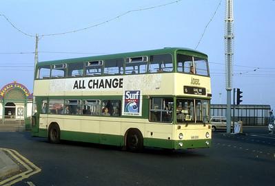 Blackpool Transport 331 Talbot Rd Blackpool Sep 91