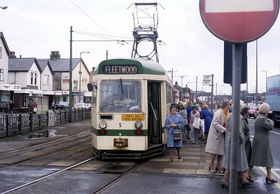 Blackpool Transport 005 Cleveleys Oct 87