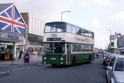 Blackpool Transport 313 High St Cleveleys Oct 87