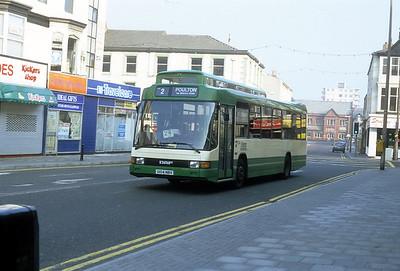 Blackpool Transport 104 Abingdon St Blackpool Sep 91