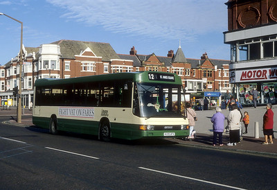 Blackpool Transport 129 St Annes Oct 93