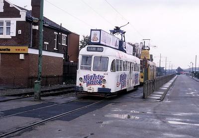 Blackpool Transport 626 Broadwater Oct 87