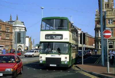 Blackpool Transport 370 Talbot Rd Blackpool Sep 91