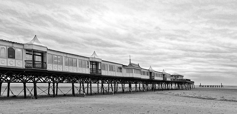 St Annes Pier In Winter 2