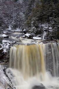 BlackWater Falls in Davis, West Virginia