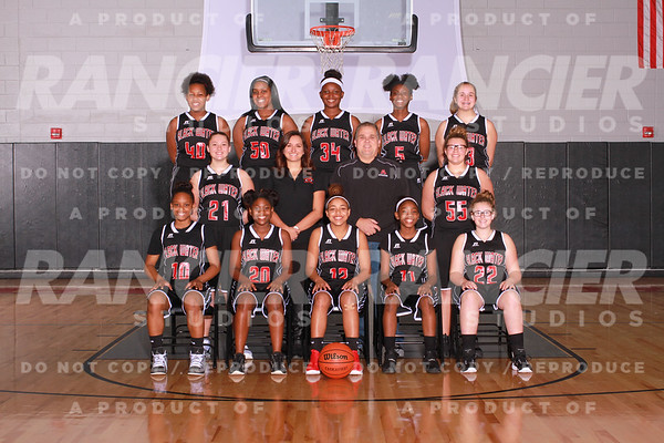 2017-2018 Black Water Middle School Girls Basketball