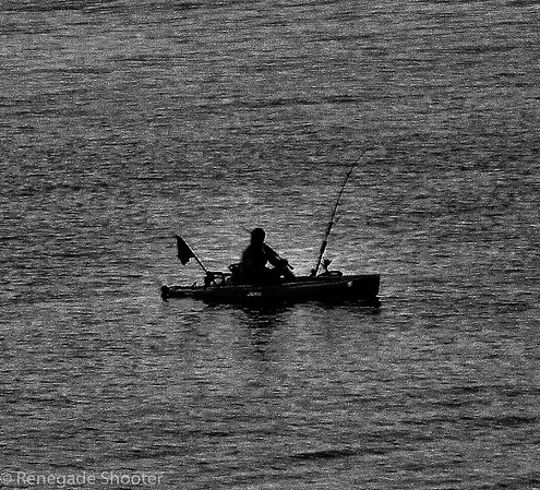 fishing on ocean, boat