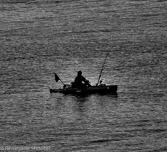 fishing on ocean, boat