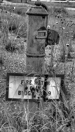 b-w old fire water hydrant-2