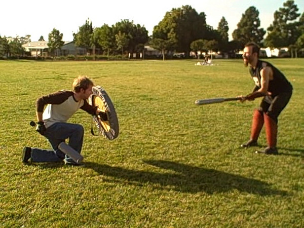 Jan 16, 2010. Thille Park Ventura<br /> Camel and TL test out new homemade polearm.