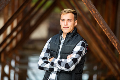 Blake Olsen Fall Senior Session (10)