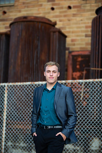 Blake Olsen Fall Senior Session (20)