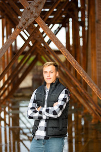 Blake Olsen Fall Senior Session (9)