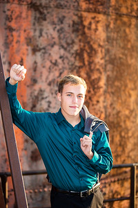 Blake Olsen Fall Senior Session (39)