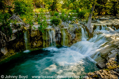 Blanco County Waterfall