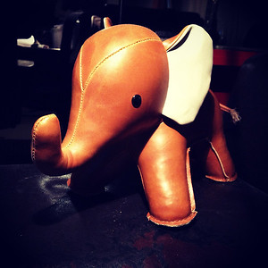 The leather elephant