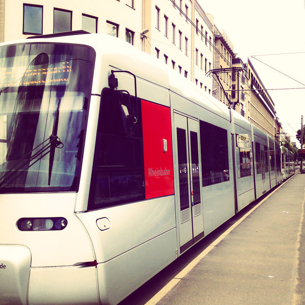 Tram in Dusseldorf