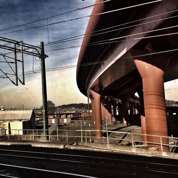Bridge not far from Gothenburg