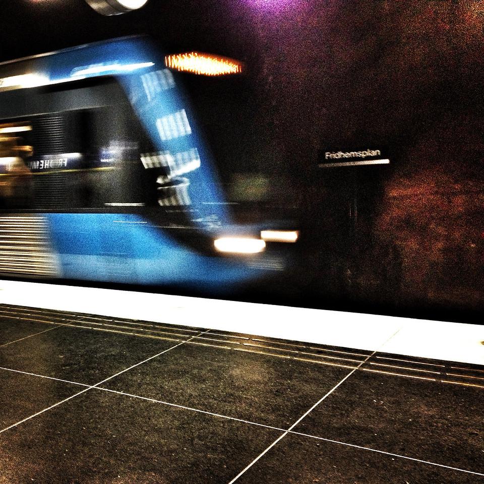Underground station Fridhemsplan