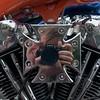 Spejling Harley Davidson