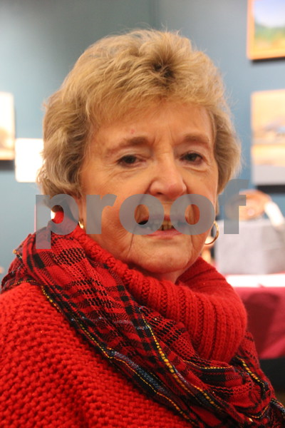 Blanden Museum's Christmas Open House was held on Saturday, December 12, 2015 in Fort Dodge. Seen here is: Margie Loomis, who was one of many who attended.