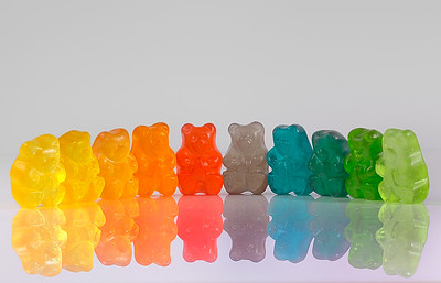 Gummy Bear Rainbow
