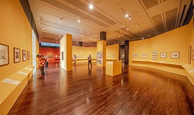 First floor gallery.