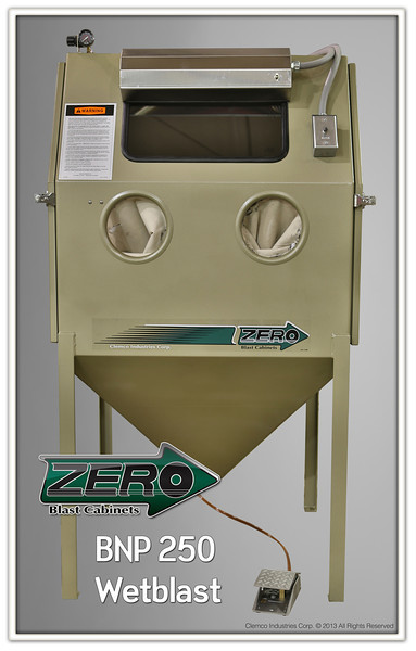 BNP 250 Wetblast Suction Cabinet
