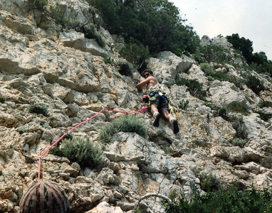 Bustin' a new route, Gaeta Italy sometime between 1995 & 1998