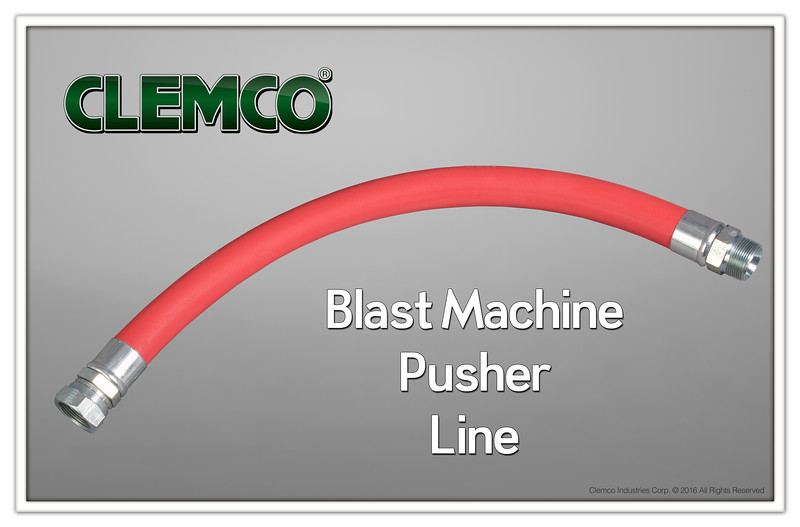 Blast Machine Pusher Line