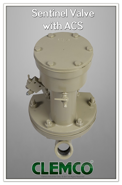Sentinel Valve with ACS