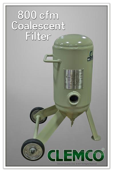 800 com Coalescent Filter